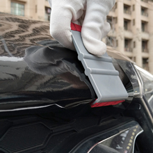 EHDIS Vinyl Car Side Wrap Film Slim Suede Squeegee Scraper Carbon Fiber Wrapping Tools Auto Window Tint Cleaning