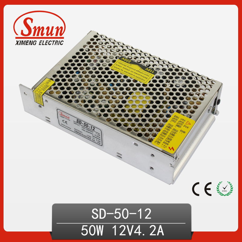 SMUN SD-50C-12 50W 48VDC To 12VDC 4.2A Isolated Switching Power Supply DC/DC Converter with CE ROHS 1 year warranty