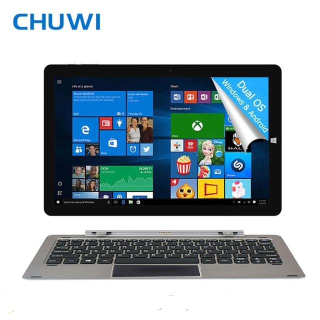 CHUWI Official! 12 Inch CHUWI Hi12 Tablet PC Intel Atom Z8350 Windows10 Android 5.1 Dual OS 4GB RAM 64GB ROM 2160x1440 USB Ports