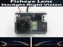 цена на Fisheye Trajectory Tracks Car Rear view Camera for Peugeot 206 207 306 307 Sedan 308 406 407 5008 Partner Tepee Reverse Camera