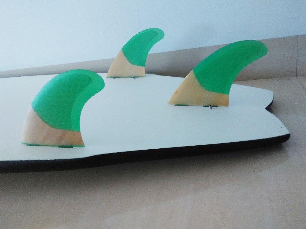 Surf Surfboard FCS Fins G5 Top Quality Բամբուկե Հիմքը - Ջրային մարզաձեւեր - Լուսանկար 3