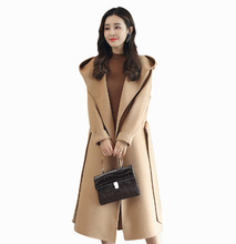 Flying ROC 2018 winter women long plus size coat high quality fashion korea style elegant femme outwear latest design