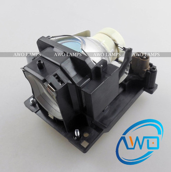 AWO Replacement Projector Lamp DT01121 with Housing for HITACHI CP-D20 Projector 150 Day Warranty