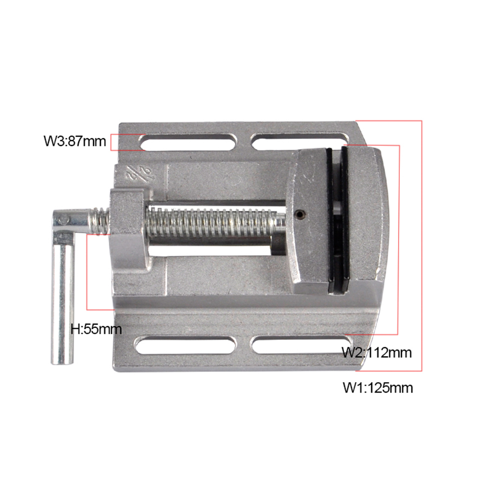 Mini precisio Multifunctional Working Table drill milling machine stent 2.5 Parallel-jaw vice worktable Adjustment цена