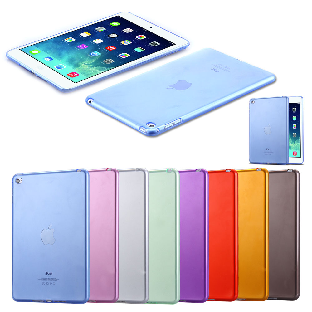 For IPad Mini 4 Cases Luxury Soft TPU Gel Crystal Clear Case for IPad Mini 4 Mini4 Slim Anti-scratch Transparent Tablet Cover floveme 7 9 mini4 transparant slim thin cover for apple ipad mini 4 case soft silicone gel crystal clear back funda cases