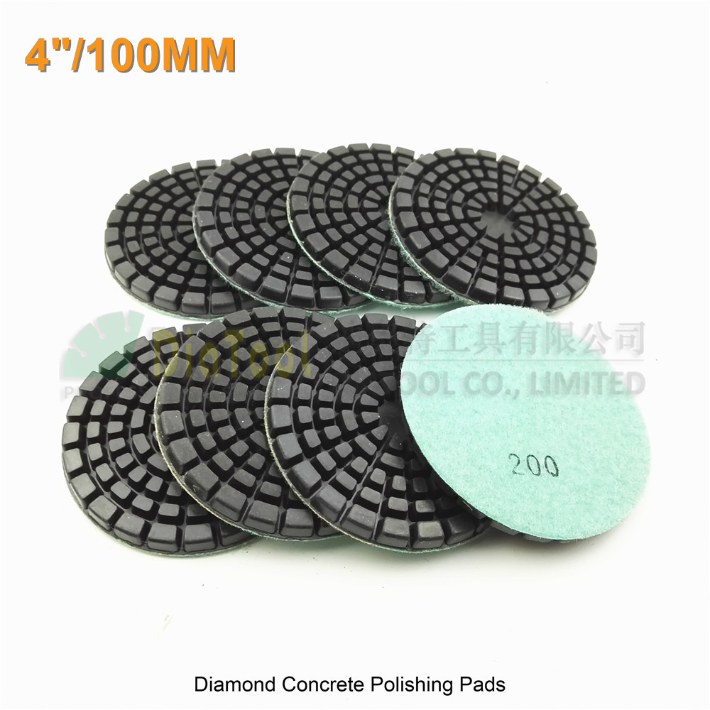 Forbeton en ce qui concerne diatool 8pcs 100mm thick resin bond diamond concrete floor renew