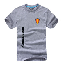 1665e5ffb Koenigsegg logo unisex t shirt casual short sleeve print mens T-shirt  Fashion cool T