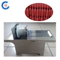 Commercial stainless steel manual sausage linking binding machine for manufacturing sausage