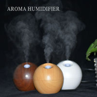 LED Aroma Diffuser Ultrasonic Humidifier USB Difusor De Aroma Essential Oil Diffuser 130ML Aromatherapy Mist Maker