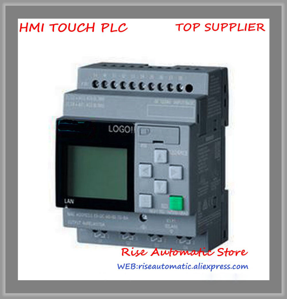 New LOGO 12 24RCE Logic Module 6ED1052 1MD08 0BA0 full replace 6ED1052 1MD00 0BA8 8 DI