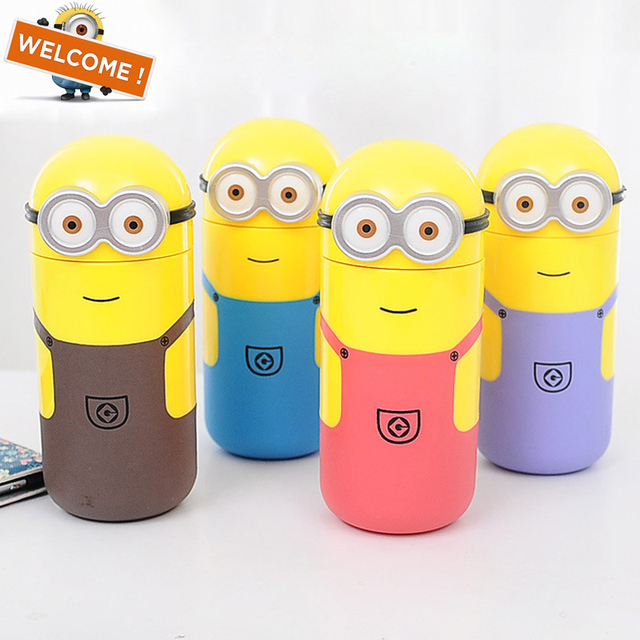 minions water my bottle 250ml drinking bottle my botl cute water