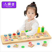 Wooden Rainbow Counting Calculation Board For Children Kids Puzzle Early Education Intelligence Shape Color Games Toys Gift