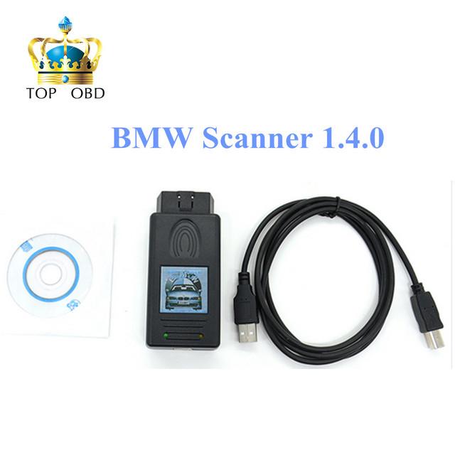 Auto Unlock Versão para BMW SCANNER V1.4.0 Scanner para BMW 1.4.0 OBD Diagnsotic Ferramenta de transporte rápido livre