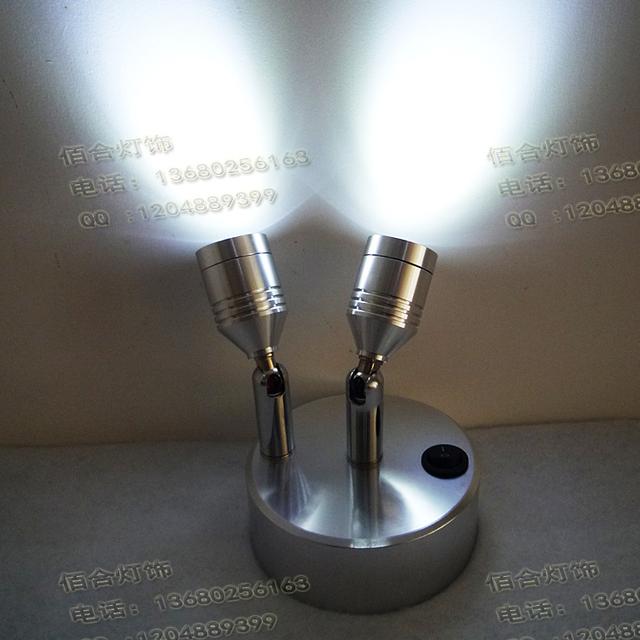 NUEVO 5 de la batería de luz led pequeños focos Showroom gabinete del gabinete luces luces lámpara lámparas de cabecera salón telón de fondo