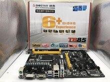 100% Новый и оригинальный В коробке горнодобывающей промышленности LGA 1150 DDR3 материнская плата для Biostar TB85 (заменить ASRock H61 PRO BTC, H81 PRO БТД)