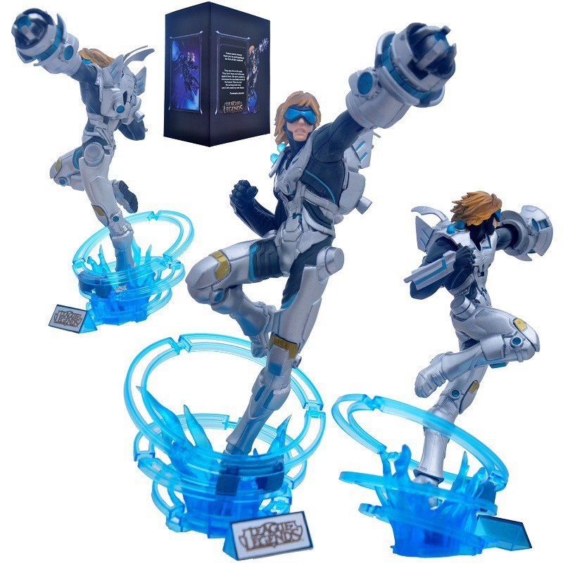 30cm The Prodigal Explorer Pulsefire Ezreal PVC game ...