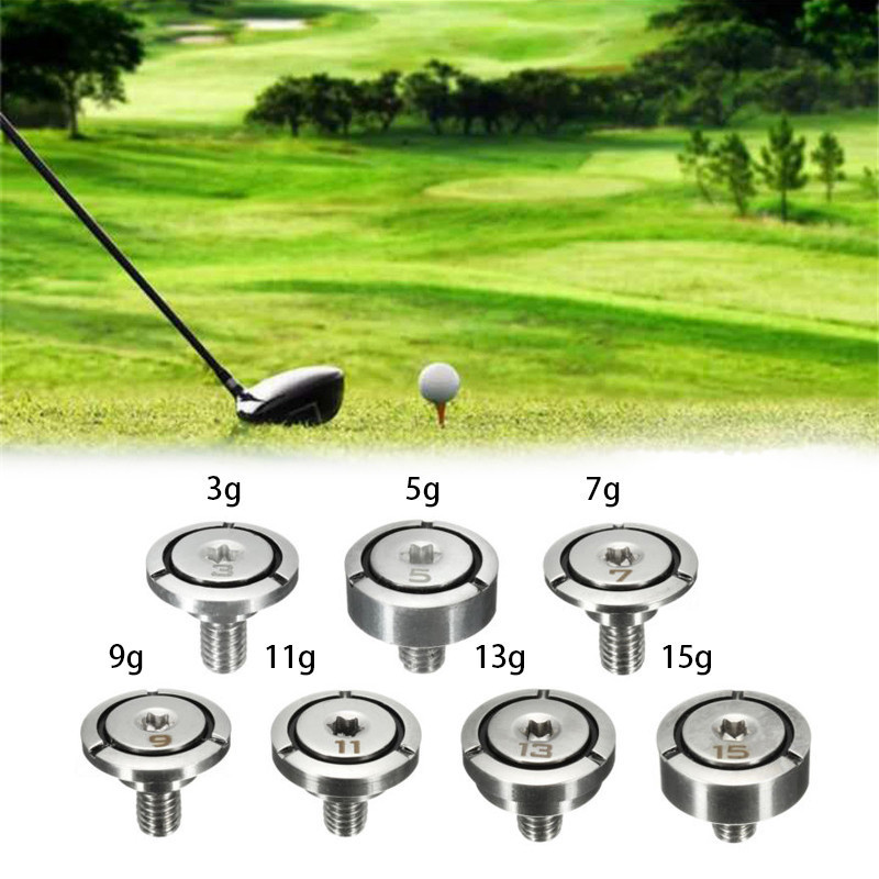 Golf Putting Screw Weight Driver Stainless Steel For Callaway Big Bertha 3g 5g 7g 9g 11g 13g 15g