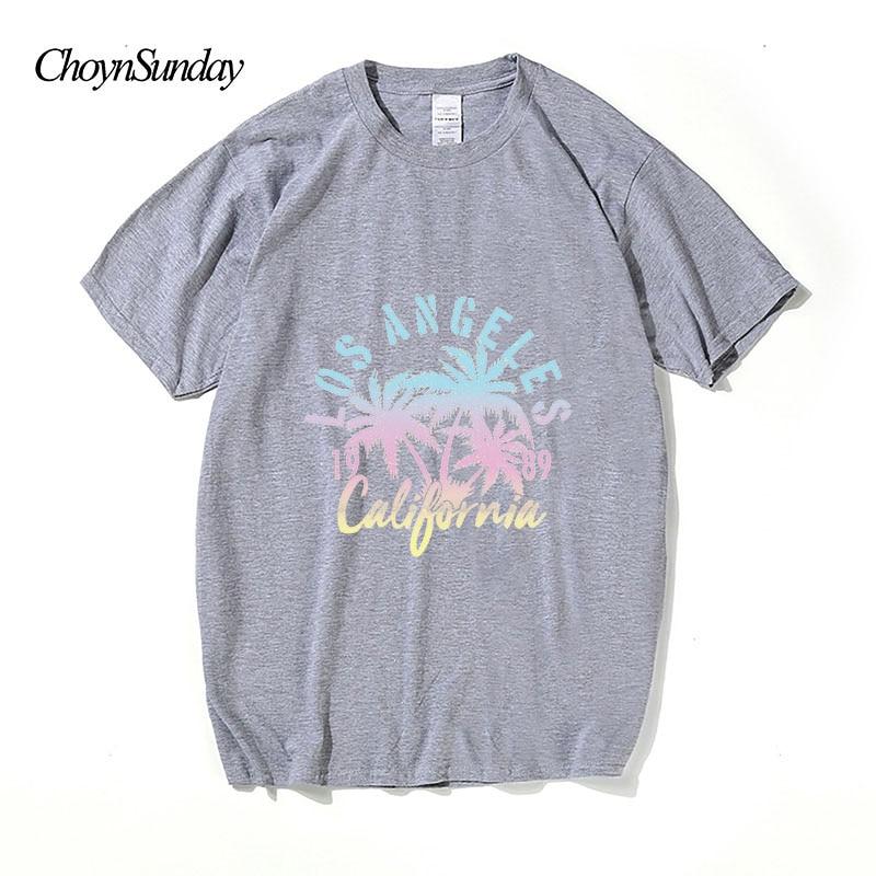 2018 ChoynSunday New Hot Sale Los Angeles Kalifornien Print Man - Herrkläder - Foto 3