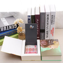 Секретная книга скрытая копилка сейф замок для ключей ящик денег