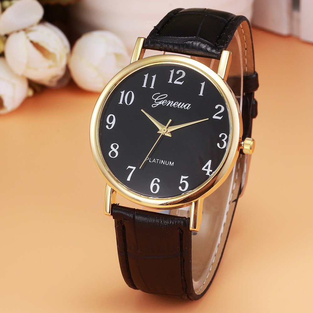 2018 Watch Men Watches Luxury Analog Quartz Leather Wrist Watch Casual Male Clocks Hours Relogio Masculino Relojes Hombre &Ff