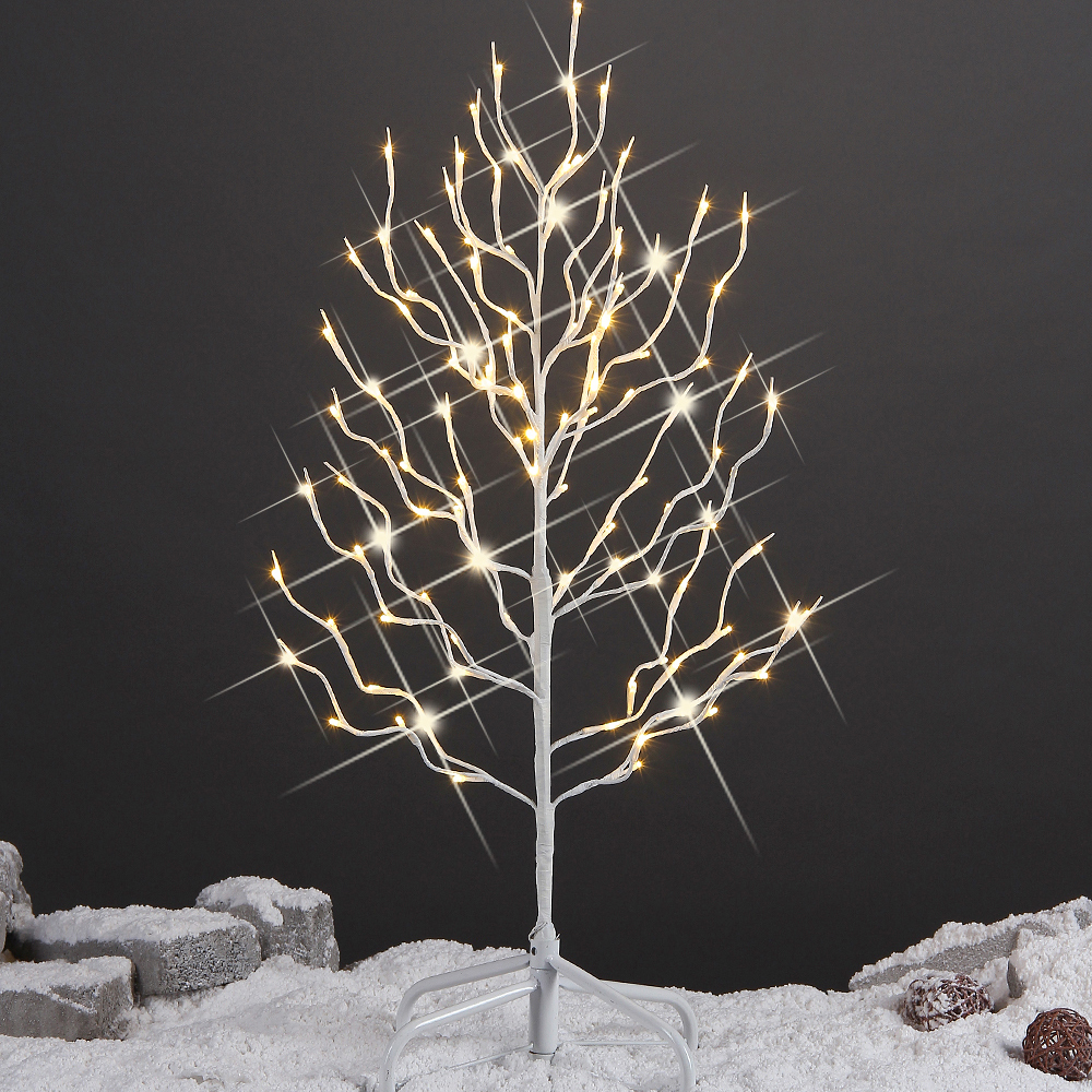 Stock In US 2015 New Led Outdoor Tree Light,White Branch ...