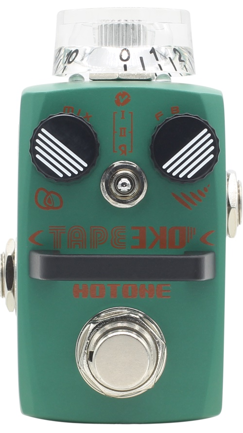 Hotone TAPE EKO Modeling Delay Effect Pedal with Free Pedal Case and More