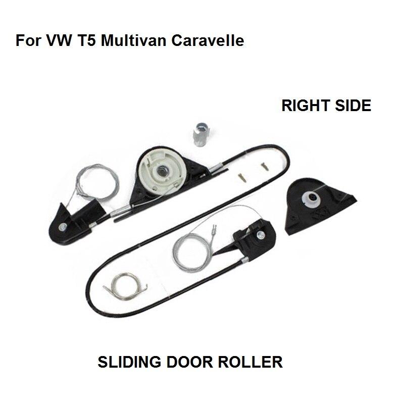OE#7E1843871 Electric Sliding Door Roller Repair Kit For VW T5 Multivan Caravelle - Right Side New Onwards 2003