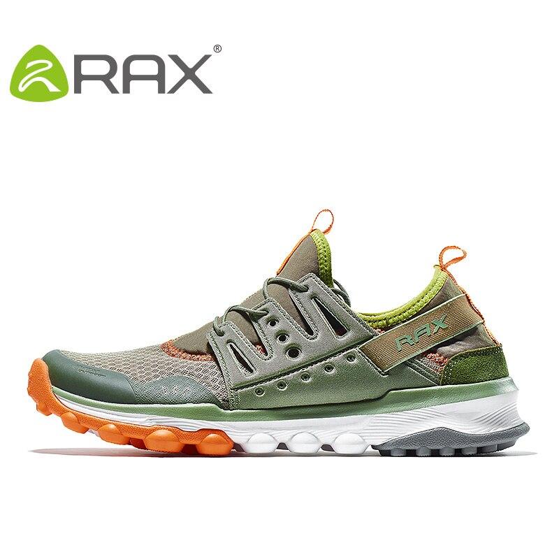 RAX Nouvelle Arrivée 2018 Respirant Chaussures de Course Hommes D été Mesh  Sport Sneakers Sports de Plein Air Formateurs Pour Homme Zapatos de Hombre 20a0ff1c9eca