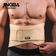 JINGBA SUPPORT fitness Back belt waist support sweat trainer trimmer musculation abdominale Sports Safety factory