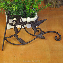ONE PIECES fashion iron flower pot rack wall hanging basket Vintage Style