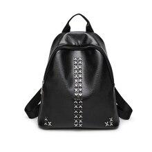 2017 новый свежий стиль рюкзак двойной мешок рот личи шаблон дорожная сумка Корейской версии сумка