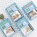 Kawaii A5 Notebook Diario Carino Pianificatore Organizzatore Dokibook Set Da Viaggio Personale Journal Note Book Penna + + Nastro Ufficio Scuola cancelleria