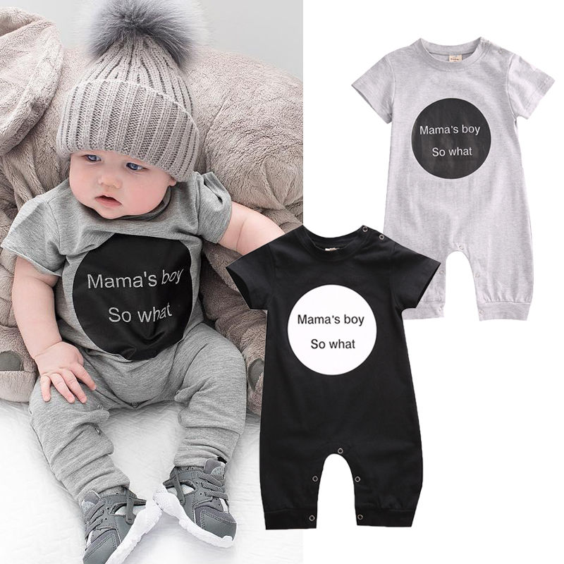 Cute Newborn Toddler Baby Kids Boys Girls Romper Jumpsuit Outfits Summer Clothes