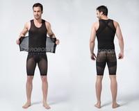 Men Hot Compression body shapers Vest Fitness Tank Top Chest Binder Male Cincher Girdle Corests