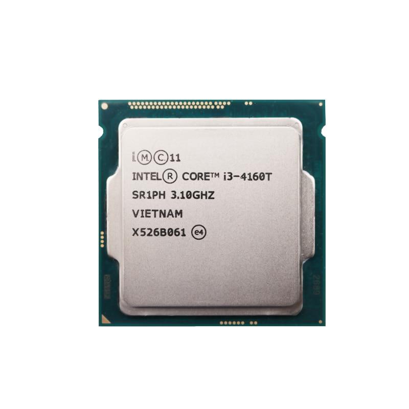 Intel Core i3 4160T 3 1GHz 3MB 5GT s LGA1150 I3 4160T CPU Processor SR1PH
