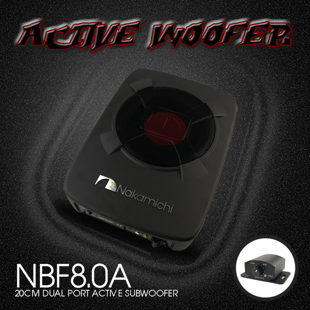 nbf8 0a 8 20cm active aluminum car audio active sub woofers car rh aliexpress com