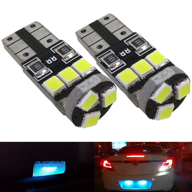 Wljh 8x Ice Blue Pure White 2835 Smd T10 W5w Car Led Interior Light Package For Honda Accord Coupe 1998 1999 2000 2001 2002