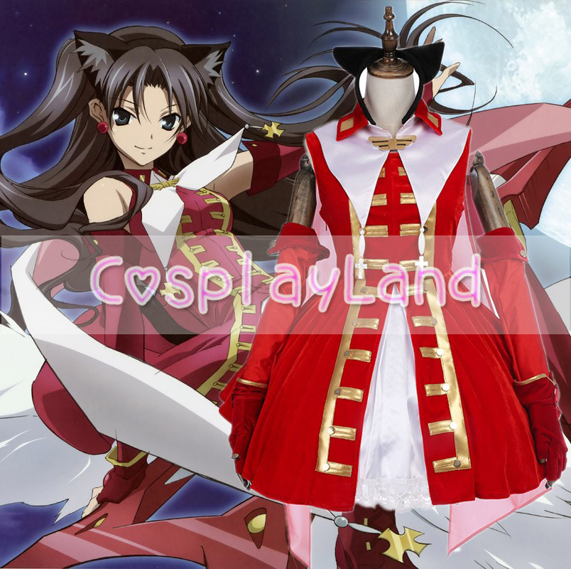 FateGrand Order Magical Ruby Red Dress Cosplay Costume Halloween Costumes for Women Custom Made FateGrand Order Dress Costumes