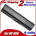 5200 мАч аккумулятор для Compaq Presario CQ50 CQ71 CQ70 CQ61 CQ60 CQ45 CQ41 CQ40 для HP Pavilion DV4 DV5 DV6 DV6T G50 G61 Batteria
