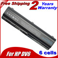 5200 mAH bateria para Compaq Presario CQ50 CQ71 CQ70 CQ61 CQ60 CQ45 CQ41 CQ40 para HP Pavilion DV4 DV5 DV6 DV6T G50 G61 Batteria
