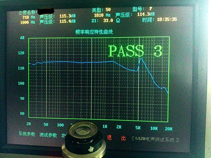 40 mm luidsprekereenheid, titanium film luidspreker, exclusieve - Draagbare audio en video - Foto 5