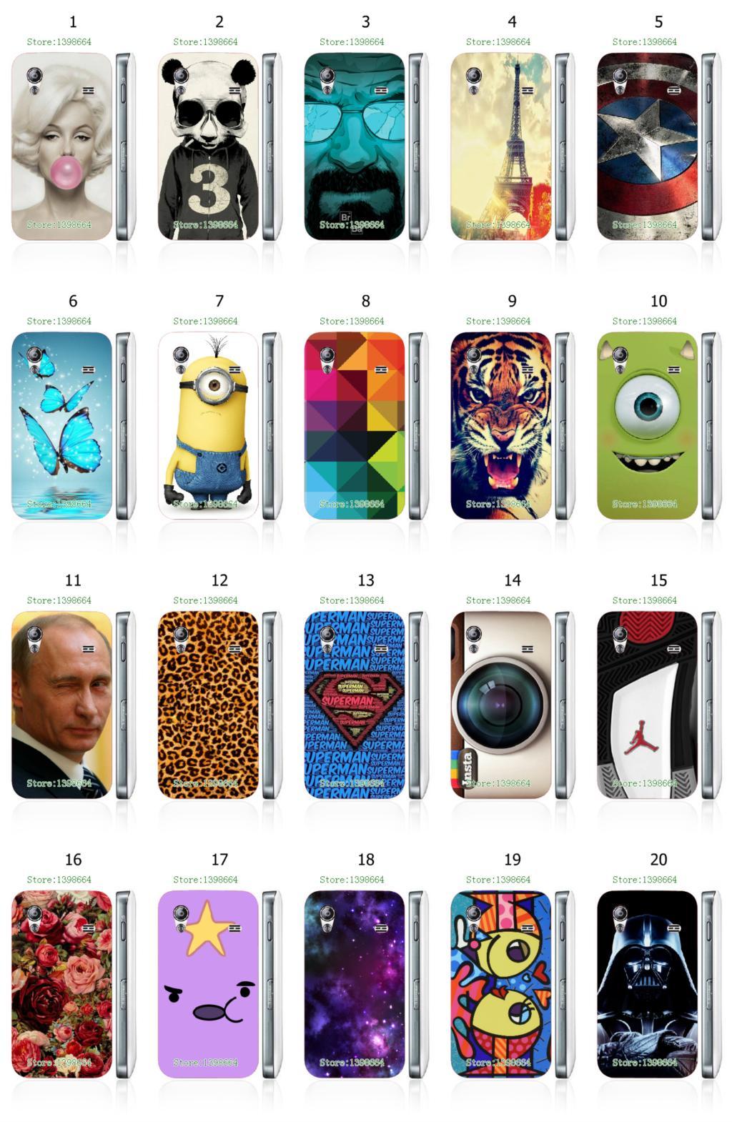 cartoon tiger flower putin designs white hard case cover samsung Galaxy Ace S5830 - Case-Manufacturer store