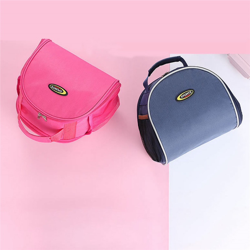Casual Lunch Bag Portable Waterproof Insulated Food Carrying Big Cold Canvas Picnic Totes Case Kids Women Thermal Box Tas Bekal in Lunch Bags from Luggage Bags