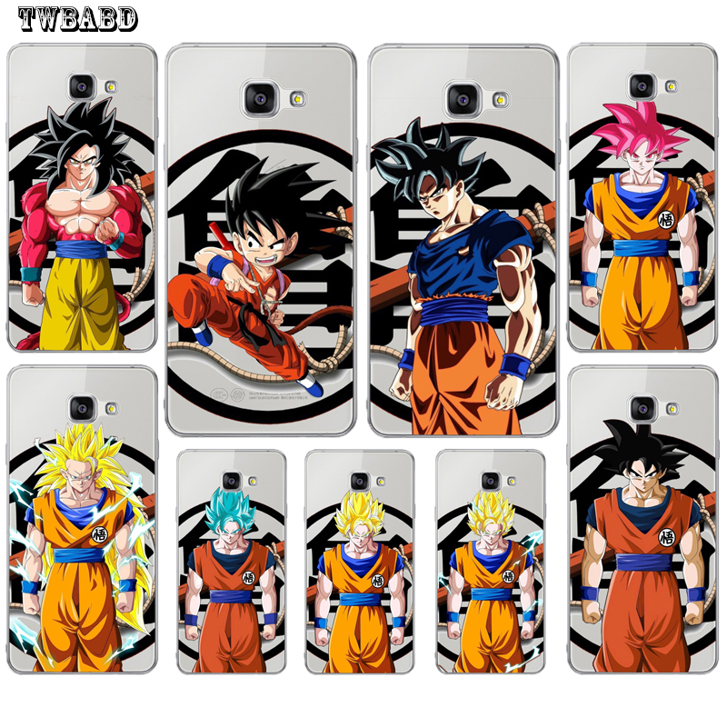 Brave Case For Cover Samsung S9 S8plus A3 A5 A7 J3 J5 J7 2015 2016 2017 Super Saiyan Wukong Dragon Ball For Coque S6 S7 S7edge A8 Demand Exceeding Supply Half-wrapped Case