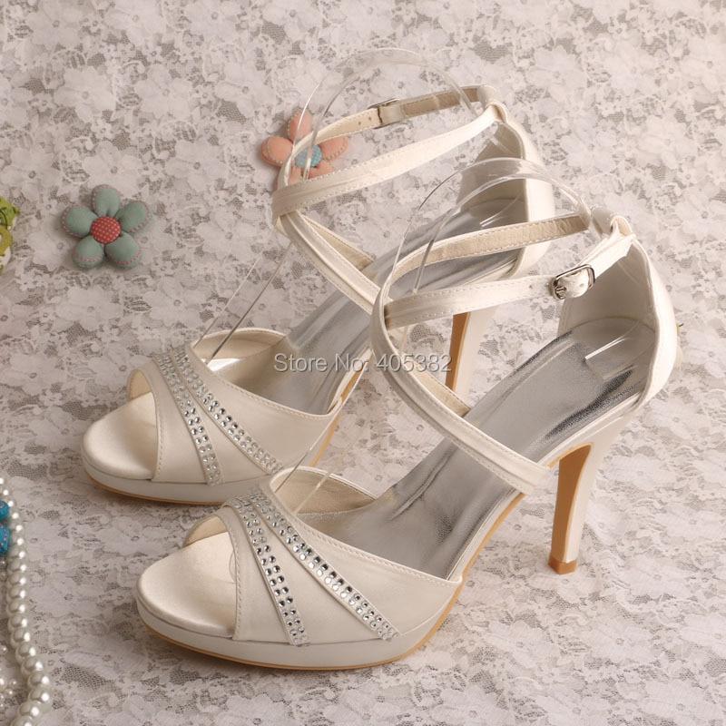 ФОТО Wedopus MW551 Lady High Heels Gladiator Style Wedding Party Sandals for Women 2016