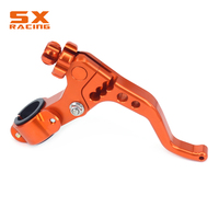 Motorcycle 22MM 7 8 Universal CNC Aluminum Colorful Adjustable Stunt Clutch Lever For KTM SX XC