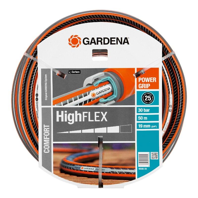 лучшая цена Hose поливочный GARDENA 18085-20.000.00 (Length 50 m, diameter 19mm (3/4) maximum pressure 30 bar, reinforced, светонепроницаем, resistant to ultraviolet radiation)