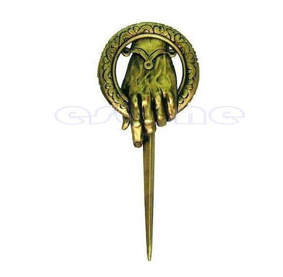 Para Game of thrones mão do rei Lapela Replica Decoração Unisex Do Vintage pin broche T15