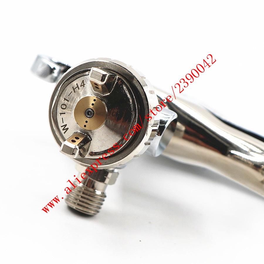 Image 3 - HVLP W101 134g Spray Gun W101 hand manual W 101 Paint Spray Gun 0.8/1.0/1.3/1.5/1.8mm Furniture Coating Car Paint Pistol-in Spray Guns from Tools on