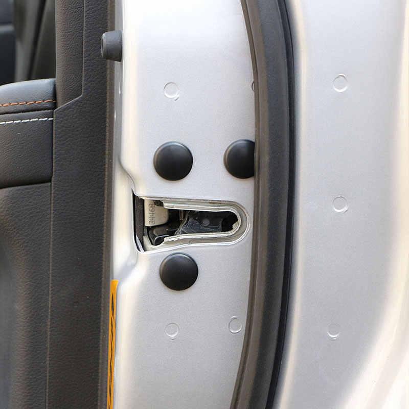 Jemao السيارات باب السيارة قفل المسمار حامي ملصق غطاء كاب ل كيا k2 k3 k4 k5 سورينتو سبورتاج أوبتيما ريو ceed سيراتو venga